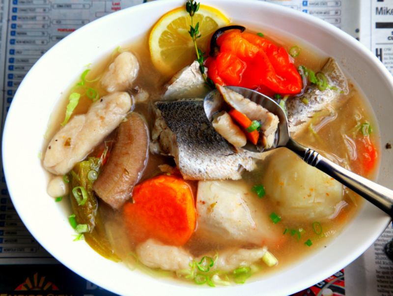 TRINI FISH BROTH