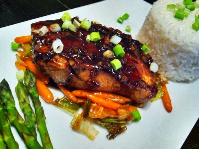 SWEET AND SOUR MAHI MAHI